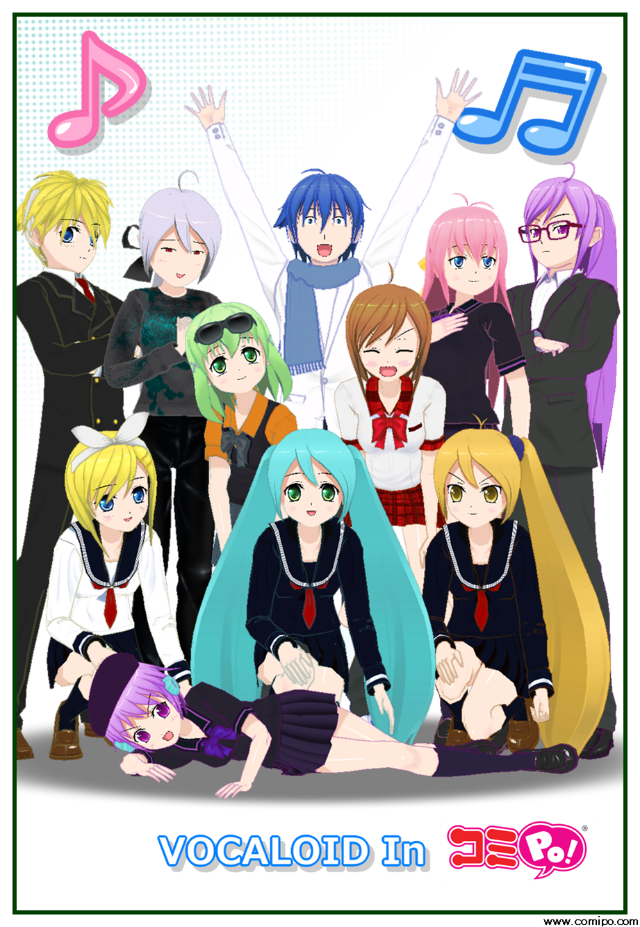 VOCALOID in Comipo!